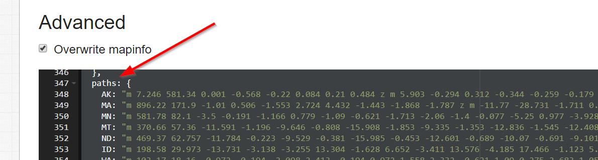 Split a State - HTML5/JavaScript Interactive Map