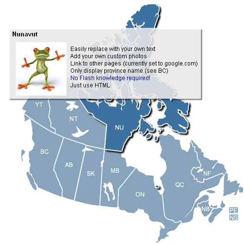 Map Of Canada Interactive.Interactive Flash Canada Map Archives Simplemaps Com