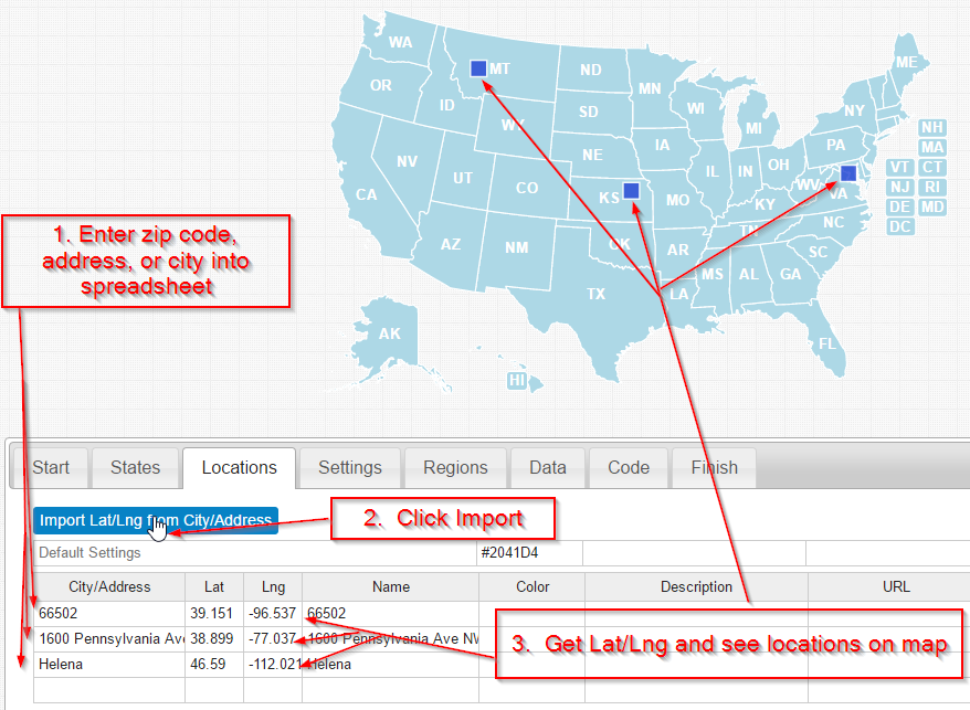 United State Geocoder Tool Resources Simplemapscom