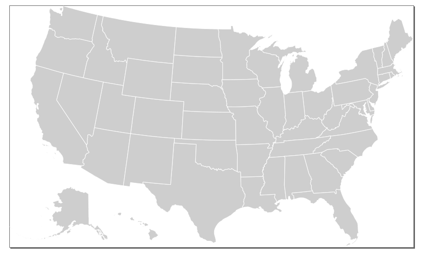 A Guide To Making SVG Maps With MapShaper Resources Simplemapscom - Us map with alaska overlay